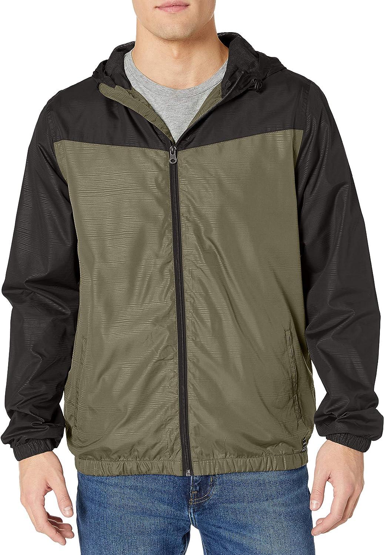 ONEILL mens Light Weight Rain Windbreaker Jacket