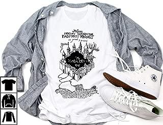 marauders map uv t shirt