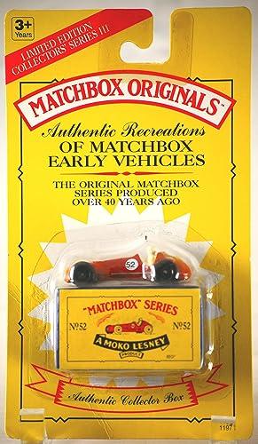 más orden Matchbox Originals Authentic Recreations - No.52 No.52 No.52 MASERATI by Matchbox  primera vez respuesta
