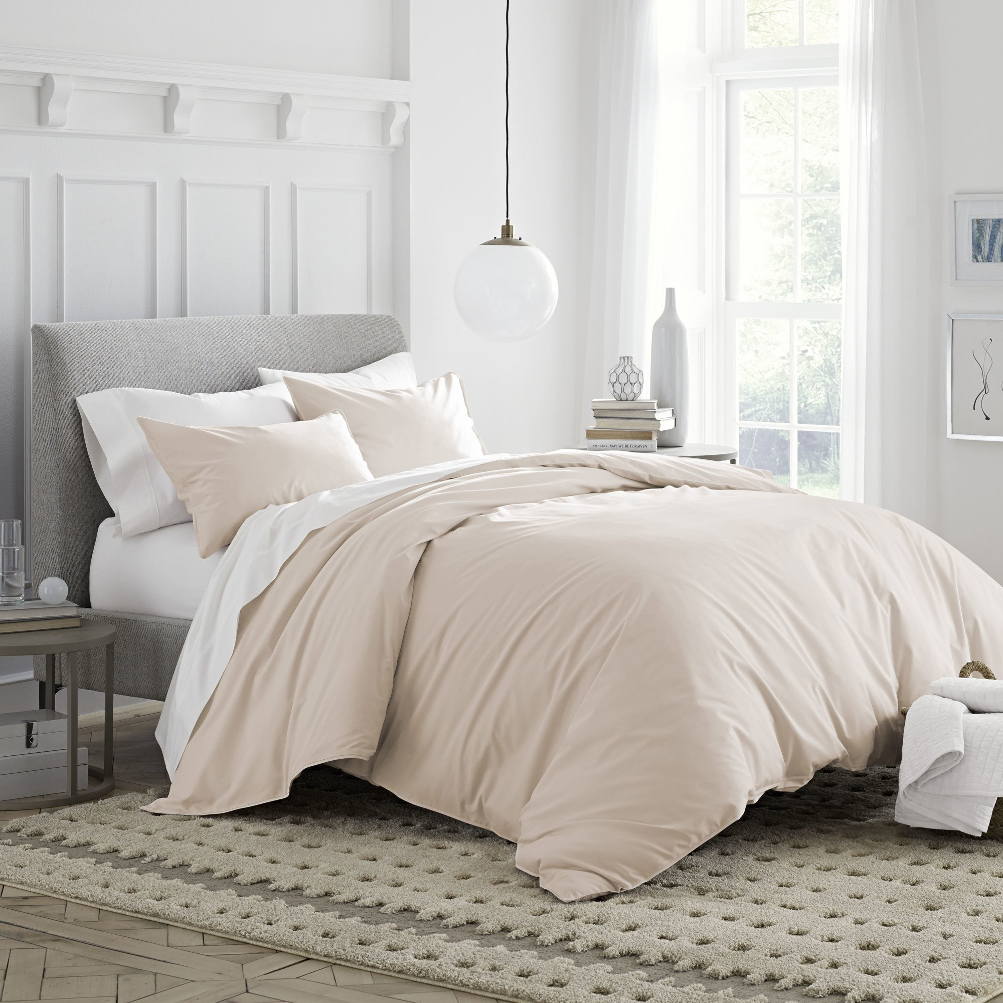 Under The Canopy Brushed Organic Cotton Duvet Cover Set Twin Blush Pink 2 Duvet Cover and & Twin Bed Canopy Cover: Amazon.com