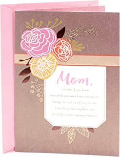 Hallmark Mahogany Birthday Greeting Card (Floral)