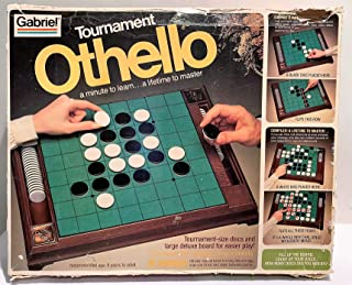 Vintage 70's Tournament Othello Game - Deluxe Board for Easier Play!