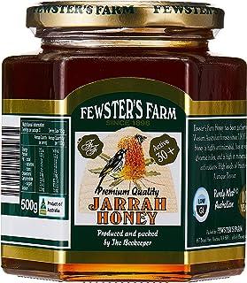 Fewster's Farm Organic Jarrah Honey TA 30+, 500g