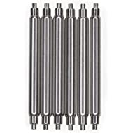 SEIKO OEM Diver's Fat Spring Bars 6 Piece Non-Magnetic Stainless Steel 24mm x 2.5mm x 1.1mm