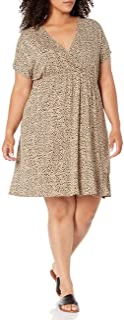 Amazon Essentials womens Plus Size Surplice Dress