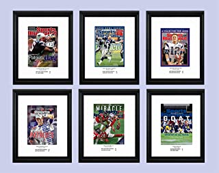 PosterWarehouse2017 Patriots 6 Super Bowl Championships and How Sports Illustrated Covered Them