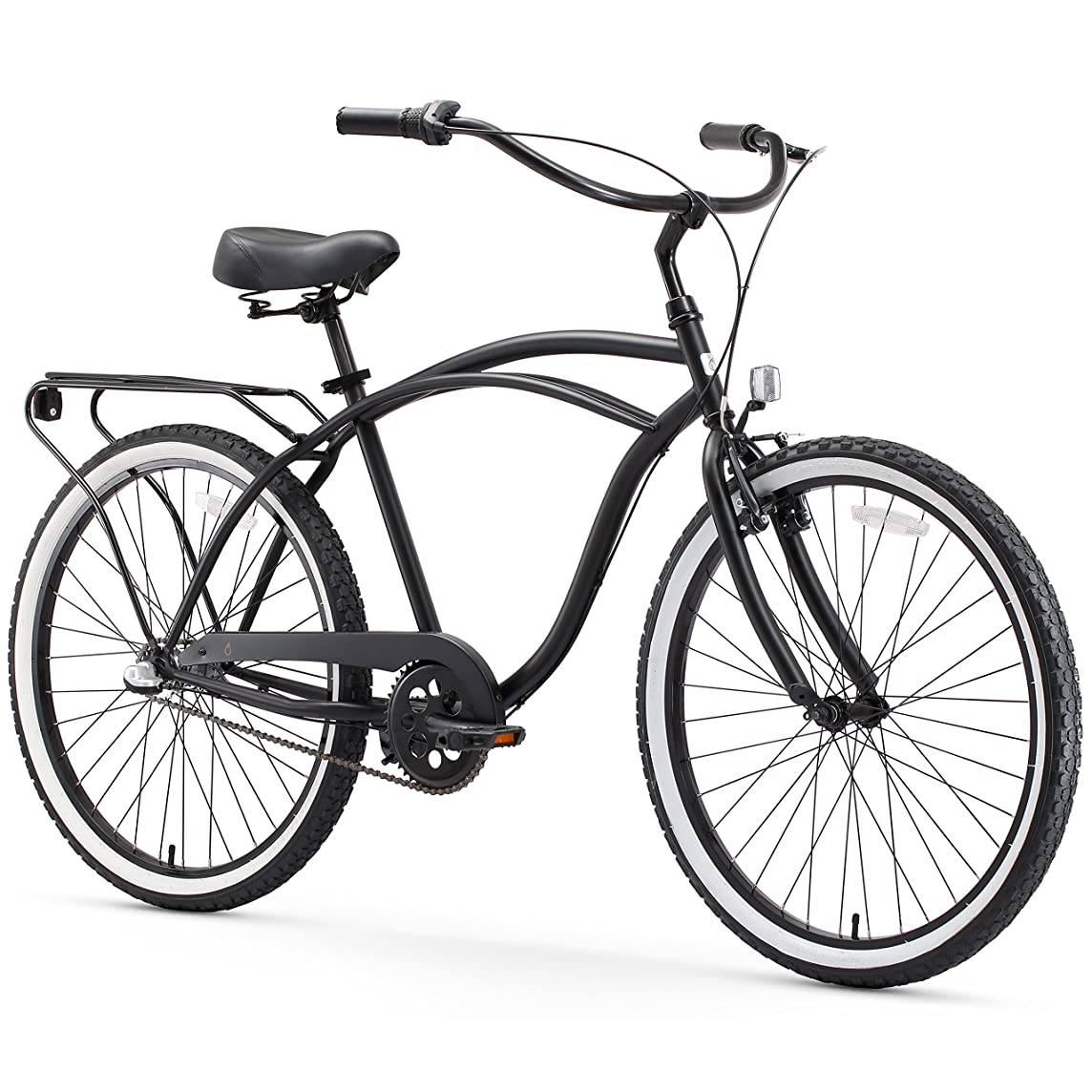sixthreezero Around the Block Men's Cruiser Bike (24-Inch & 26-Inch)