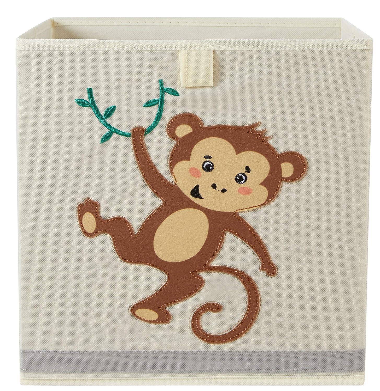 Organizix Max 45% OFF Foldable Animal Storage Miami Mall Bins Box Cube Toy Kids Basket