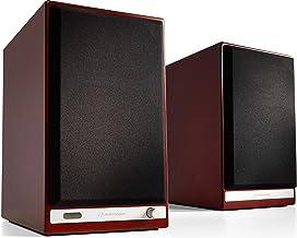 Audioengine HD6 150W Wireless Powered Bookshelf Speakers, Bluetooth aptX HD, 24-Bit DAC & Analog Amplifier (Cherry Wood)