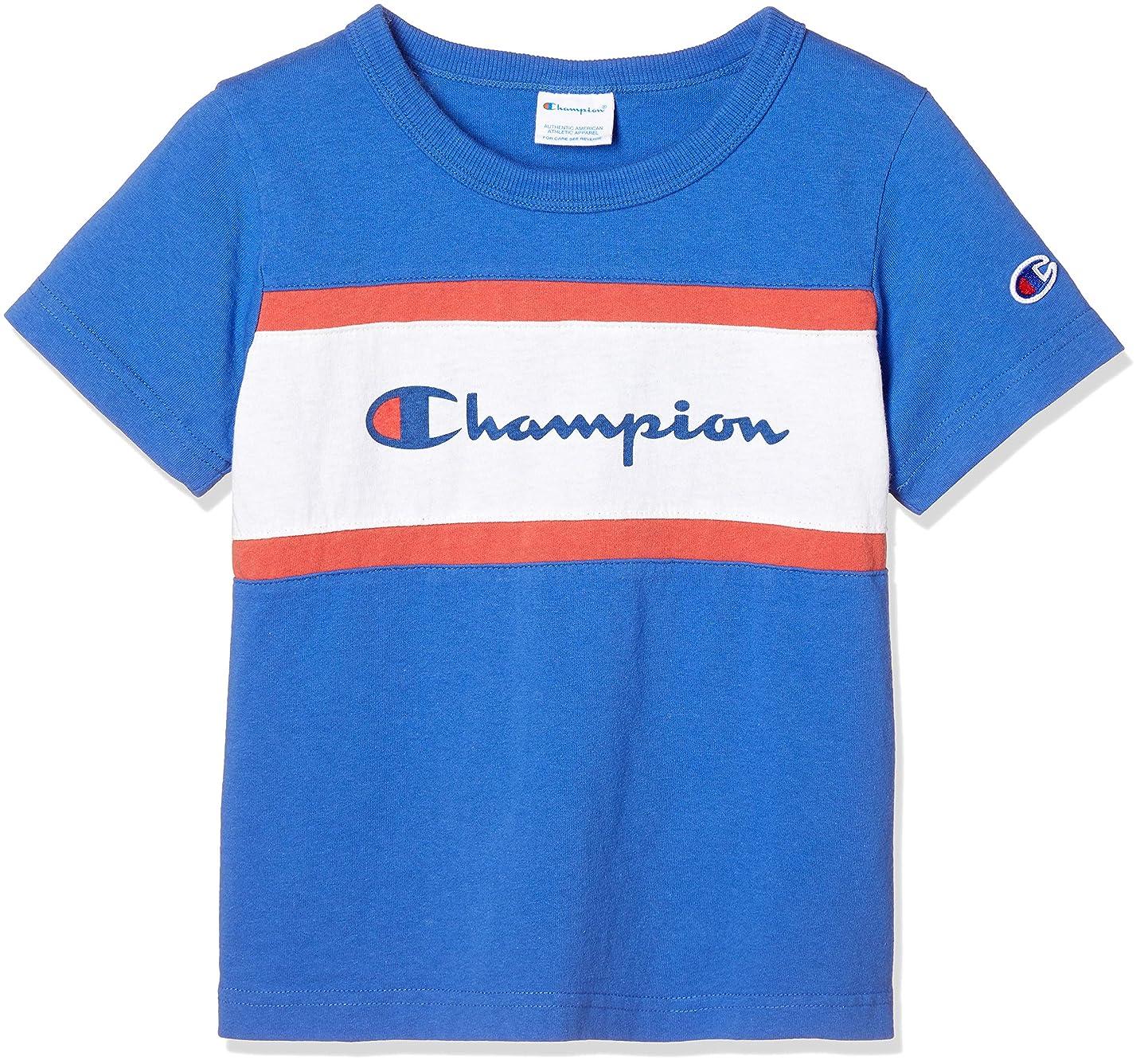 コインランドリーワイド底[チャンピオン] 切り替えTシャツ CS4961 ボーイズ
