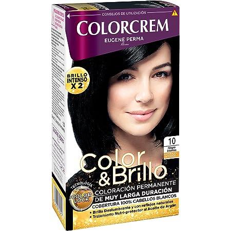COLORCREM tinte negro intenso Nº 10 caja 1 ud: Amazon.es: Belleza
