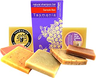 Eco-Friendly Shampoo Conditioner Bars Sampler Pack | 4 Sample Shampoo Bars - 2 Conditioner Bars Real Beer & Honey Silk Samples | Natural & Organic Ingredients Beauty and the Bees