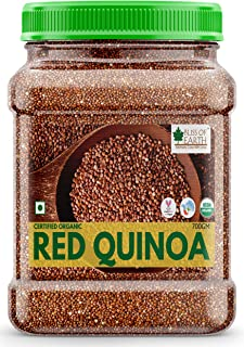 Bliss of Earth USDA Organic Red Quinoa 700gm for Weight Loss, Raw Super Food