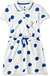 Enlifety Little Girls Princes Dresses Sleeveless Denim Tops Sundress Floral Print Tutu Skirts One-Piece/Outfit 2-8T