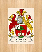 Carpe Diem Designs Owens Coat of Arms/Owens Family Crest 8X10 Photo Plaque, Personalized Gift, Wedding Gift