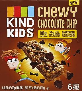 KIND Kids, Chocolate Chip Bar, 0.81 Ounce (6ct Retail Box)