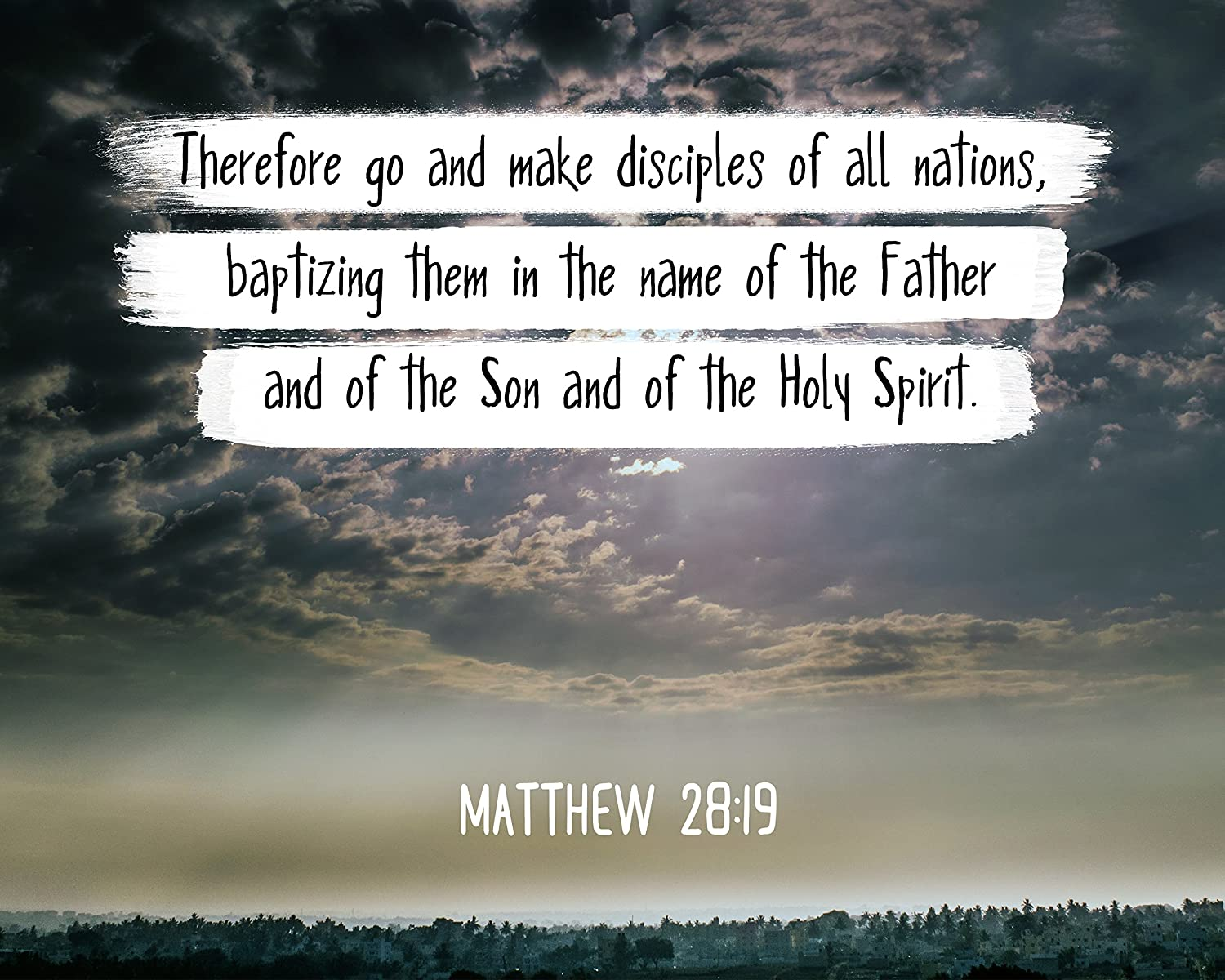 Amazon.com: Bible Verse Wall Art Therefore go and Make Disciples of All.  Matthew 28:19 Christian Poster Framed Picture Wall Decor Print | Spiritual  Inspirational Verses and Quotes (8x10 Unframed Photo): Posters &