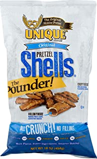 Unique Pretzels Shells Homestyle Baked Original (Pack of 12)