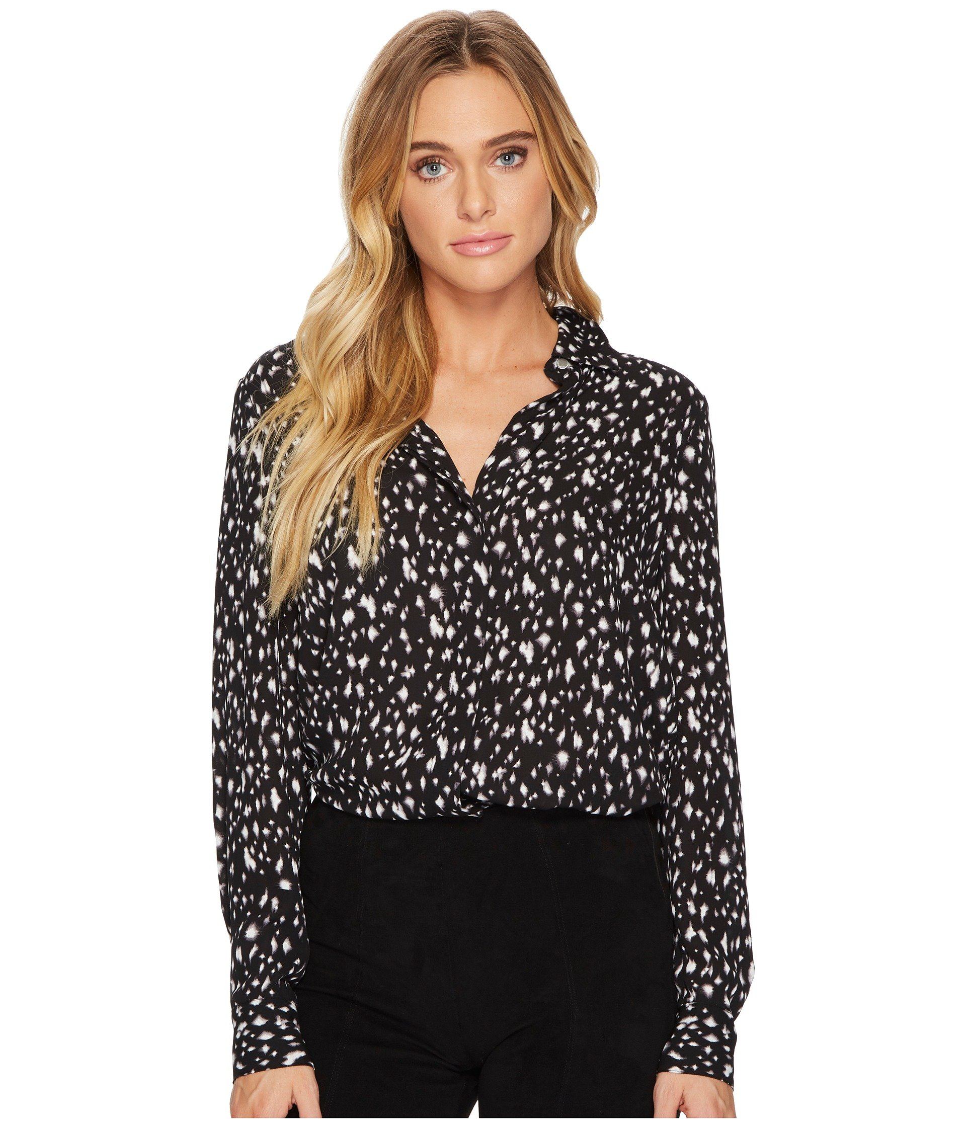 ELLEN TRACY Boyfriend Shirt, Starry Night