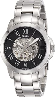 Men's 45mm Grant Silvertone Automatic Watch