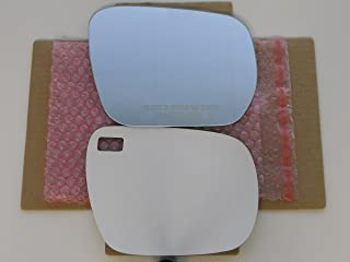 New Replacement Mirror Glass with FULL SIZE ADHESIVE for 2006-2012 SUZUKI GRAND VITARA Passenger Side View Right RH