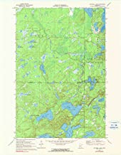 lake mitchell topographic map