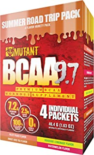 Mutant BCAA 9.7 – Delivers 9.7 g of Amino Acids in a 2:1:1 Ratio That is Instantized for Superior Solubility with an Added...