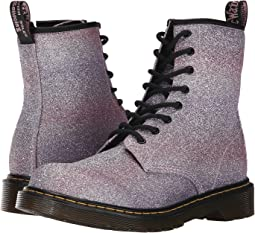 Dr. Martens Kid's Collection Delaney Glitter (Big Kid)