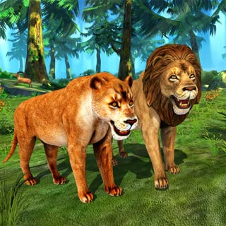 Lion Simulator Family: Animal Survival Games