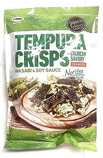 Maruesu Tempura Seaweed Crisps Wasabi & Soy Sc Flavor 6oz