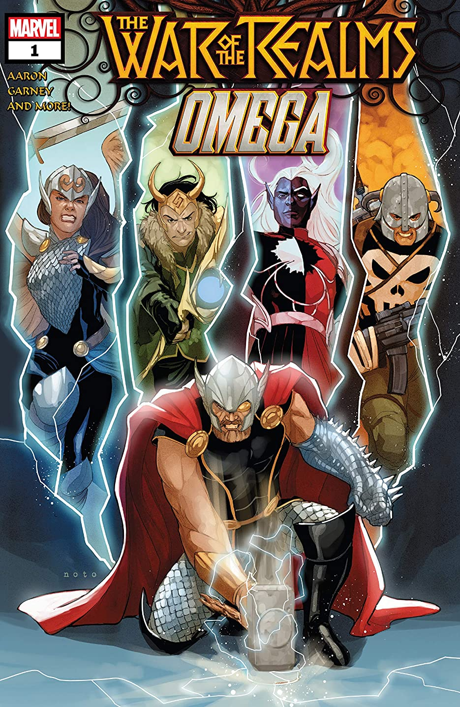 メンタル増幅ソートWar Of The Realms Omega (2019) #1 (English Edition)