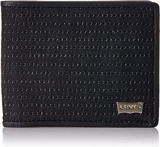 Levi's FW 14 Denim Black Men's Wallet (19193-0001)