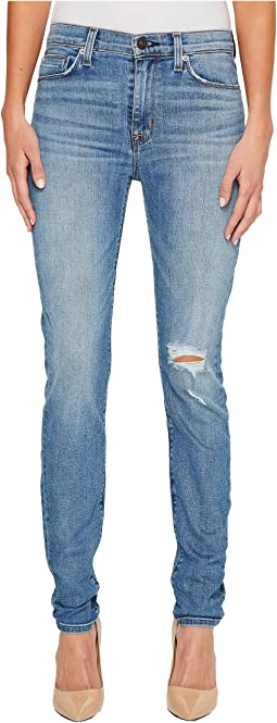 Hudson - Barbara High-Waist Super Skinny Jeans in Movement
