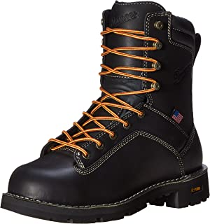 حذاء عمل Danner رجالي مقاس 20.32 سم مصنوع من سبيكة الأصابع