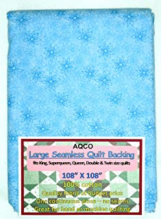 Quilt Backing, Large, Seamless, from AQCO, Blue, C49795-600
