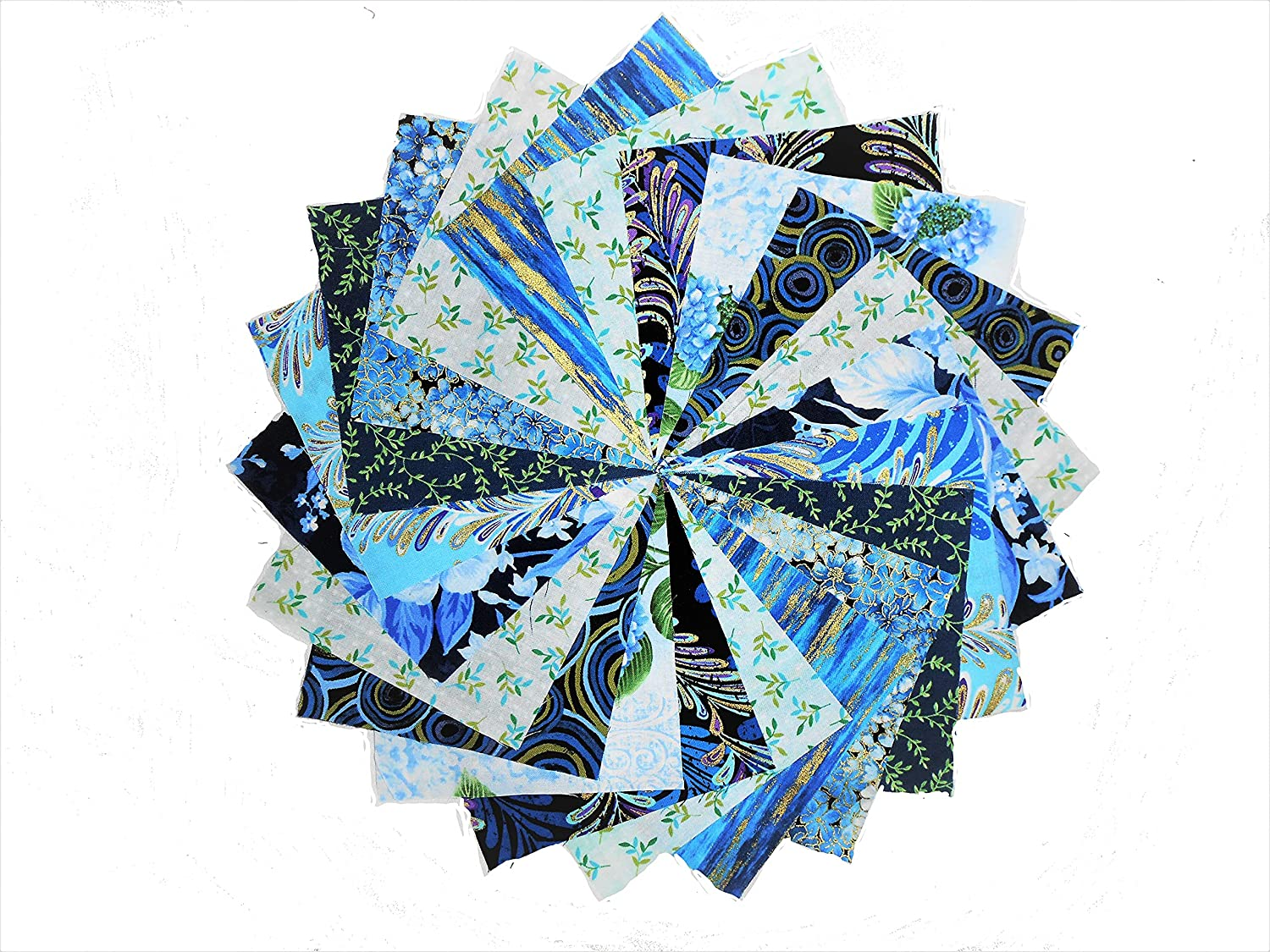 40 5 Inch Midnight in The Garden Quilting Squares Charm Pack by Kanvas Studio 10 colorways