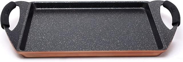 Bergner Infinity Chef Asador de Inducción, Aluminio Forjado, Marrón, 30x23 cm
