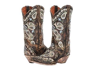 Dan Post Julissa (Chocolate) Cowboy Boots