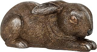 Sleeping Garden Animal Statue Outdoor Yard Figurine (Rabbit)