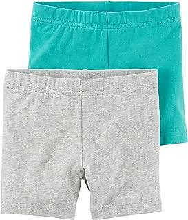 Little Girls' 2-Pack Tumbling Shorts