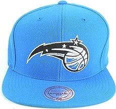 Orlando Magic NBA Mitchell & Ness Team Logo Solid Wool Adjustable Snapback Hat