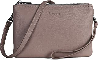 Befen Leather Cell Phone Crossbody Wallet Purse, Women Small Crossbody Bag - Fit iPhone Xs Max