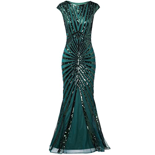 97b33c14434 BABEYOND Women s 1920s Vintage Sequined Flapper Dress Roaring 20s Great  Gatsby Dress for Costume Party