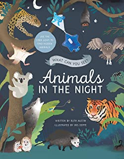 What Can You See? Animals in the Night: Use the Star Light to Find Hidden Animals!