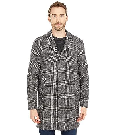 Selected Homme Hagen Wool Coat (White/Black) Men