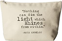 Dogeared - Maya Angelou: Nothing Can Dim The Light Lil Zip