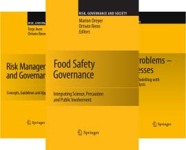 Risk, Governance and Society (16 Book Series)