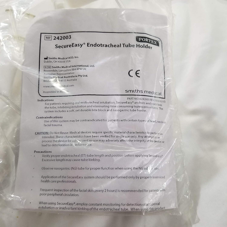 Portex SecureEasy® Endotracheal Tube Holder Adult Oklahoma Al sold out. City Mall 24 Nonsterile