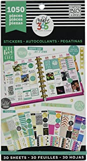 Me & My Big Ideas-Create 365 Happy Planner Sticker Value Pack, 1050/Pkg