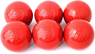 Mylec Hot Weather Hockey Balls, (Pack of 6) RED